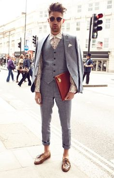 London Collections: Men - LC:M Menswear Street Style I love street style!