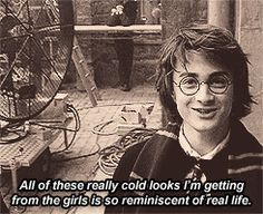 from a scene in the goblet of fire. not that i really need to tell you that, you can tell from his hair