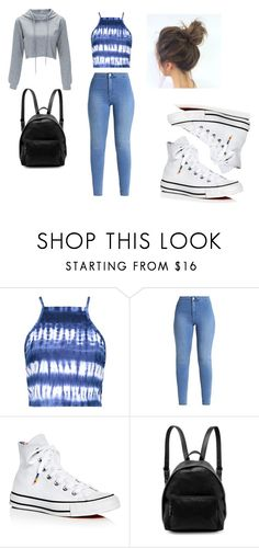 """""""Untitled #26"""" by jadethegeek on Polyvore featuring Boohoo, Converse and STELLA McCARTNEY"""