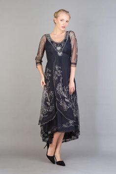 Nataya Downton Abbey Dress 40163 Sapphire