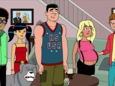 Image result for High School USA! 2d, High School, Family Guy, Animation, Guys, Fictional Characters, Image, Style, Swag