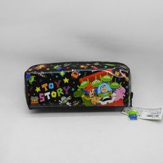 Disney Toy Story Black Shining Pencil Case (Import in Japan)