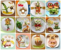 23 Fun, Delicious And Nutritious Breakfast Dishes Any Kid Would Love Healthy Meals For Kids, Kids Meals, Healthy Snacks, Eat Healthy, Happy Healthy, Yummy Snacks, Healthy Recipes, Cute Food, Good Food