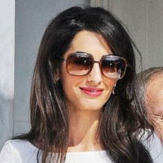 Amal Alamuddin Goes to Work with a New Last Name, a New Case, and a Seriously Chic Outfit  #InStyle