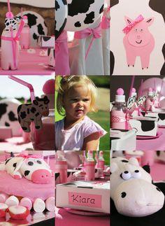 Cow Birthday, Birthday Tutu, Birthday Party Themes, Birthday Invitations, Little Pumpkin Party, Second Birthday Ideas, First Birthdays, Celebration, Party Ideas