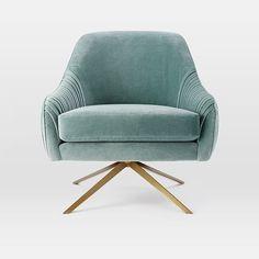 Roar + Rabbit Swivel Chair | west elm