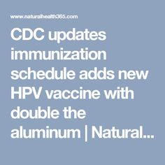 cdc hpv vaccine schedule