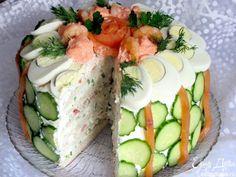 This stunning Scandinavian Sandwich Cake is sure to dazzle your friends and…