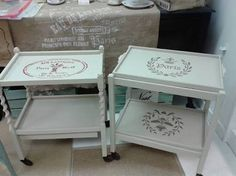 Image result for upcycled tea trolley