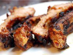 Costillas de cerdo Ibérico con barbacoa
