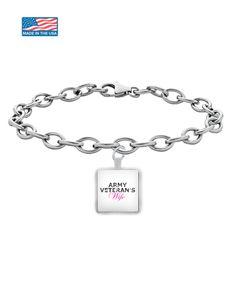 Army Veteran's Wife - Bracelet spb-avw