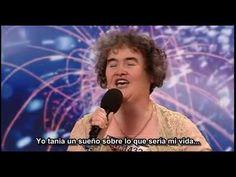 canta  la cancion los miserables....supremo.-  Susan Boyle Subtitulado en español (Les Miserables - Episode 1 - Britain...