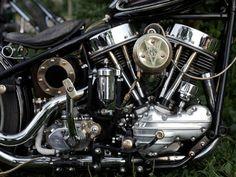 Photo. Harley Harley-Davidson Harley Davidson Panhead kickstart Details