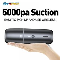 Car Vacuum Cleaner Portable Wireless 5000mA //Price: $48.51 & FREE Shipping // #house #style #art