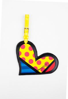 HEART luggage tag $20