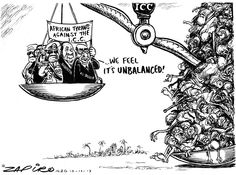 Zapiro: African leaders weigh in on ICC - A sad day for Africa.