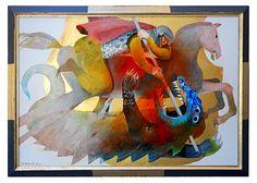 Gallery-Arcabas 'Saint Georges terrasant le Dragon / Santo Giorgio terrasanta il Dragone' #art *