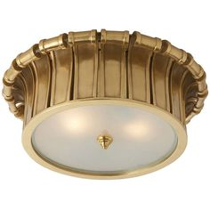 Visual Comfort Lighting Alexa Hampton Vivien 2 Light Flush Mount