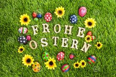 Check Easter Images Wishes Quotes Pictures Sayings in German! Happy Birthday Meme, Birthday Cards, Wish Quotes, Bunny Crafts, Happy Easter, Picture Quotes, German, Seasons, Spring
