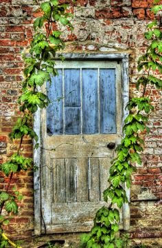 Old doorway at Harewood House, Yorkshire. By Declan O'Doherty