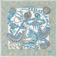 970b8e576d96 Daimyo Prince du soleil levant noir   ♔ How to wear a Shawl   Scarf    Pinterest   Hermes, Carré et Carré hermes