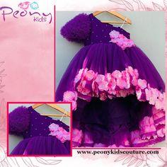 Little Girl Pageant Dresses, Kids Party Wear Dresses, Baby Girl Dresses, Baby Birthday Dress, Birthday Dresses, 2nd Birthday, Baby Girl Frocks, Frocks For Girls, Baby Girl Purple