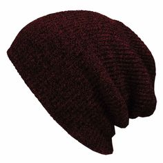 492513d1dcc 2016 Winter Beanies Solid Color Hat Unisex Plain Warm Soft Beanie Skull Knit  Cap Hats Knitted