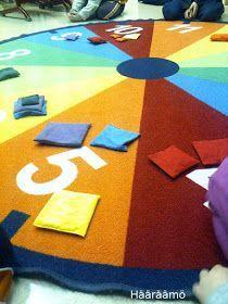 Hääräämö: Rytmirinkula ja hernepussit Kids Rugs, Home Decor, Decoration Home, Kid Friendly Rugs, Room Decor, Interior Design, Home Interiors, Nursery Rugs, Interior Decorating