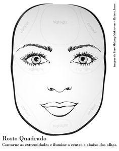 Tutorial - Formatos de rosto | Correção - MakeUp Atelier | Cinthia Ferreira