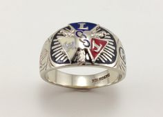 Independent Order of Odd Fellows Ring  IOOF by EstateJewelryMama