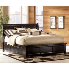 king bed with drawers. Atlantic Furniture Urban Lifestyle Madison Bed With Storage \u0026 Reviews | Wayfair Bedroom Ideas Pinterest Furniture, Drawers And Double King