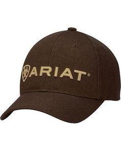 94e06aea307 Ariat Brown Logo Cap 1502902 Browning Logo