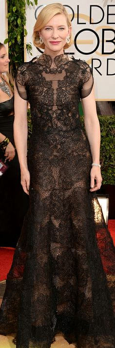 Cate Blanchett in Armani Prive | Golden Globes. My top pick of the night! Best Dressed!