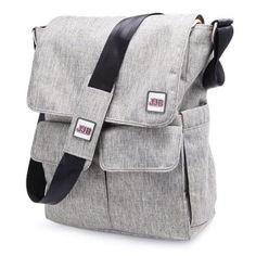 Ju Ju Be Be Hip Daddy Diaper Bag - Steel  Item# JUJ208    Our Price: $79.99