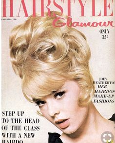 Extreme Looks - Real & Wigs Joey Heatherton, Wet Set, Nostalgia, Retro Hairstyles, Classic Hairstyles, Hair Magazine, Tape In Hair Extensions, Hair Creations, Hairspray