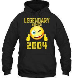 Emoji Legendary Since March 1937 Year 81 Birthday Shirt Pullover Hoodie Funny Gift Men Women 21st Birthday Shirts, 41st Birthday, Birthday Bash, Emoji Shirt, Hoodies, Sweatshirts, Cool T Shirts, Pullover, Funny