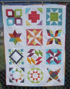 Summer Sampler Quilt along group on Flickr