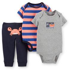 3-Piece Bodysuit & Pant Set   http://www.carters.com/carters-baby-boy-sale-llcollections/V_121D525.html?dwvar_V__121D525_size=12M