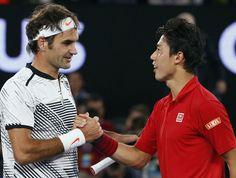 Federer tops Nishikori in 5 sets to reach Aussie Open quarters | theScore.com