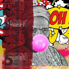The Artist Is Present: Williams Chechet Utilizes Pop Art To Remind You To Know Your History - OkayAfrica Chocolate City, Creative Industries, Art Of Living, Hard Rock, Art Pictures, Album Covers, Knowing You, Pop Art, Presents