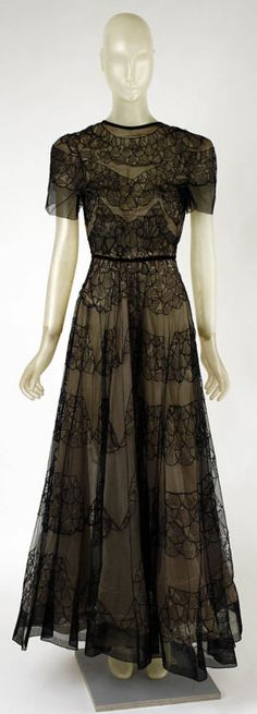Dinner Dress, Madeleine Vionnet, 1937, The Metropolitan Museum of Art