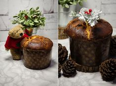 Włoska bożonarodzeniowa babka - Panettone. Pyszna babka na Boże Narodzenie, Nie zajmuje wiele czasu, wymaga jedynie rozplanowania pracy. Włoskie Panettone - przepis,