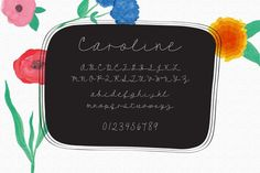 Check out Caroline - A Script Font by OnTheSpotStudio on Creative Market