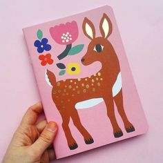 @ leenakisonen Bambi notebook a 5-year old me would have appreciated!