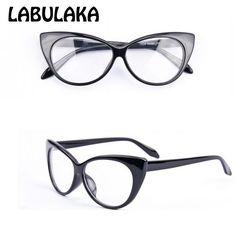 2016 Brand New Designer Cat Eye Glasses Women Gafas Retro Fashion Black Women Glasses Frame Clear Lens Vintage Eyewear  #purse #fashion #makeup #jewelry #cute #hair #beautiful #model #stylish #beauty #jennifiers #outfit #style #outfitoftheday #styles