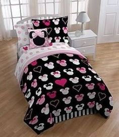 Minnie Mouse Twin Bedding