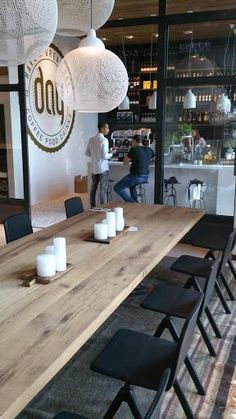Sausage Factory Old Stockholm | Restaurant Amstelveen #lighting #timber: Bar Interior, Bar Restaurant ...