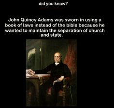 Some historical emphasis on seperation of church and state.