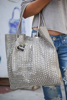wholesale rhinestone purses and handbags | ... HOT HOT High End Rhinestone Tote Handbag - Rhinestone Stud Bags