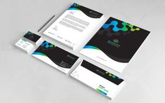 Letterhead, Business Card, Envelop Corporate Identity Template